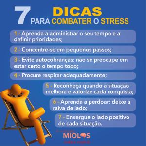 7 dicas para combater o stress