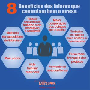 8 benefícios para os líderes que controlam bem o stress.